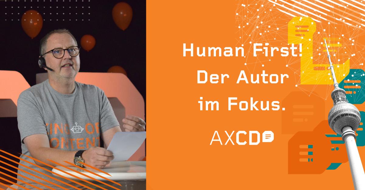 Human first - AXCD 2020 Saim Alkan