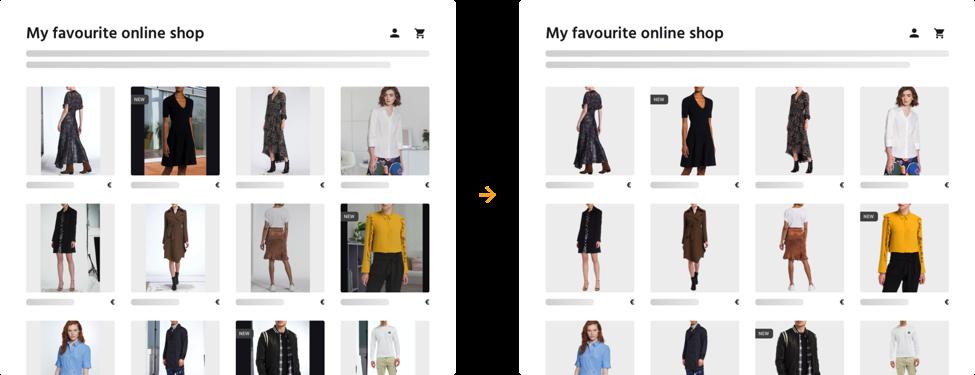 Bilder haben großen Einfluss auf die Conversion-Rate in Online-Shops.