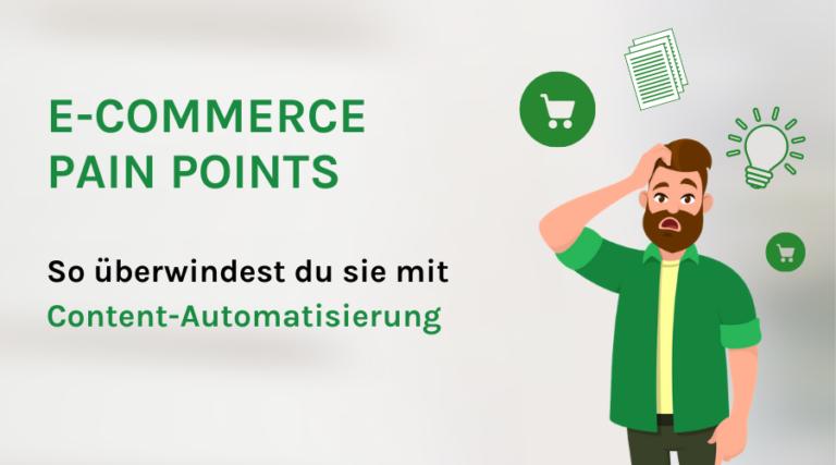 E-Commerce Pain Points