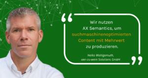 Interview Heiko Wohlgemuth