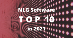 Top 10 NLG Software 2021