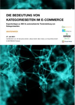 Whitepaper: Die Bedeutung von Kategorieseiten im E-Commerce